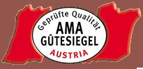 Logo des Ama Gütesiegels