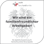 Zertifikat von Frutura als familienfreundlicher Arbeitgeber.