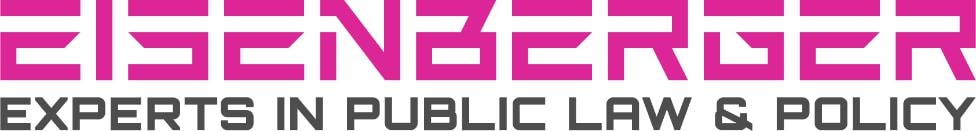 Pinkes Logo von Eisenberger