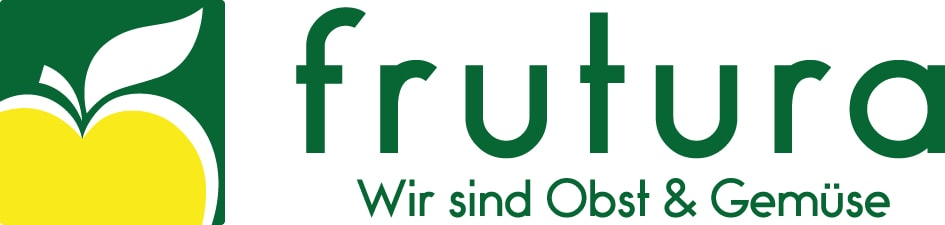 Green logo of the sustainable fruit and vegetable producer Frutura.