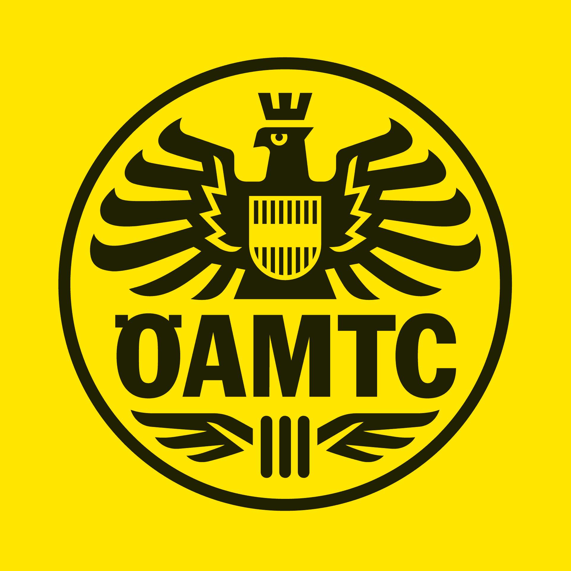 Yellow logo of the Austrian ÖAMTC